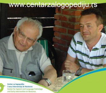 prof.dr Svetomir Bojanin i dr Stevan Nestorov