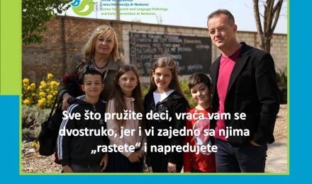 Olga Brdar, pedagog i dr Stevan Nestorov, defektolog