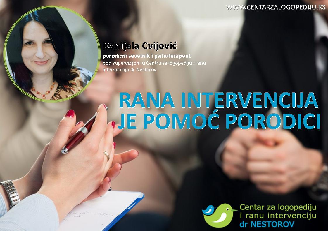 Danijela Cvijović, porodični savetnik, psihoterapeut